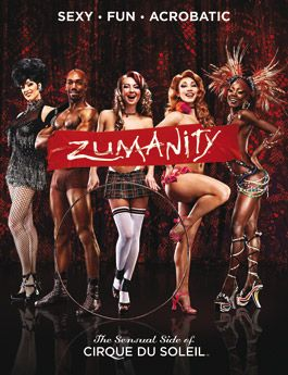 """Zumanity, """"The Sensual Side of Cirque Du Soleil"""" at New York-New York Hotel and Casino."""