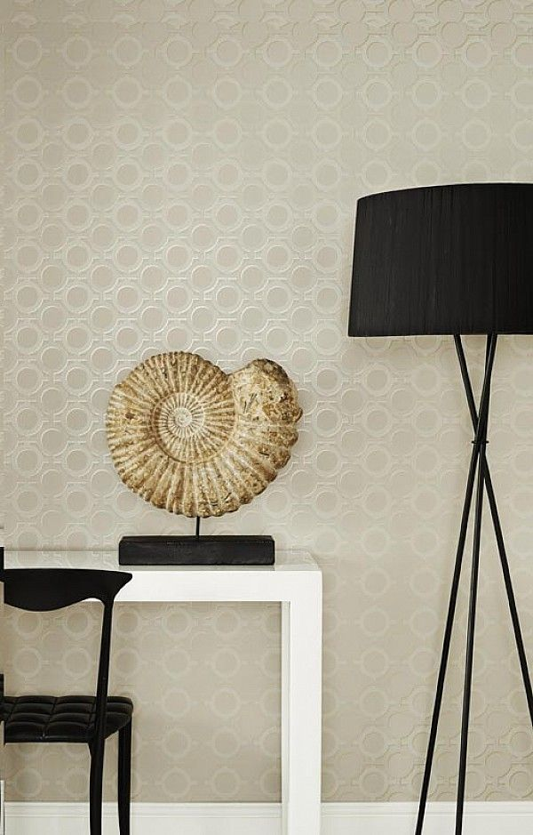Kelly Hoppen wallpaper collection for Graham & Brown was shot by Adrian Briscoe & styled by Amanda Koster.