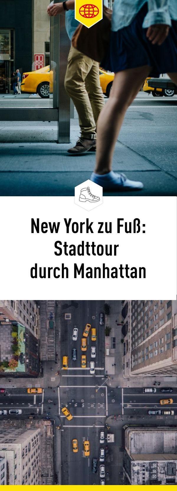 Erkunde zu Fuß zusammen mit MARCO POLO Manhattan und entdecke viele der Top-Sehenswürdigkeiten.