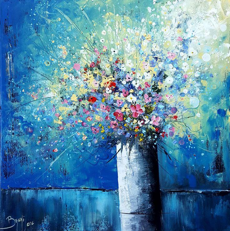 1000 id es sur le th me fleur toile de peinture sur pinterest toile pour peinture fleurs. Black Bedroom Furniture Sets. Home Design Ideas