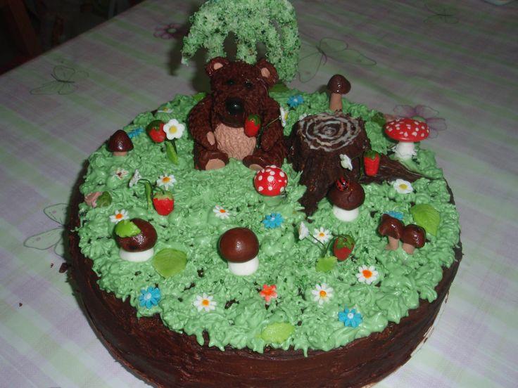 """Торт """" На лесной полянке"""""""