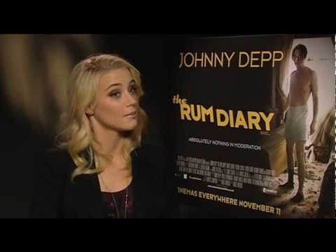 Amber Heard Interview -The Rum Diary.Загружено 09.11.2011.
