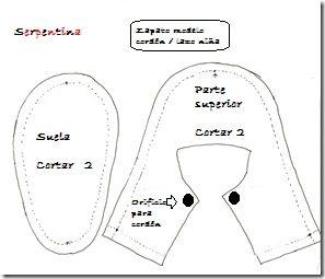 SERPENTINA ACCESORIOS: MODELOS ZAPATOS BEBÉ (TUTORIAL PATRONES)