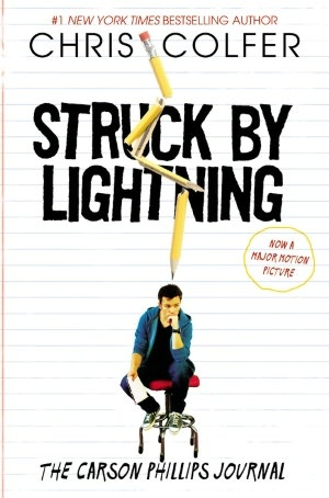 Struck By Lightning: The Carson Phillips Journal by Chris Colfer (of Glee) will be a movie, too.