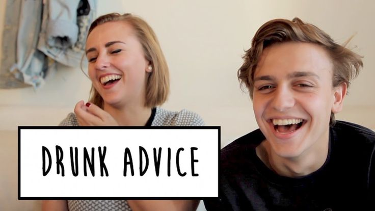 DRUNK ADVICE WITH SCOTT HELMAN | Hannah Witton