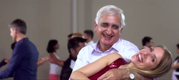 Salman Khursheed in a music video produced by German Embassy in 2015
