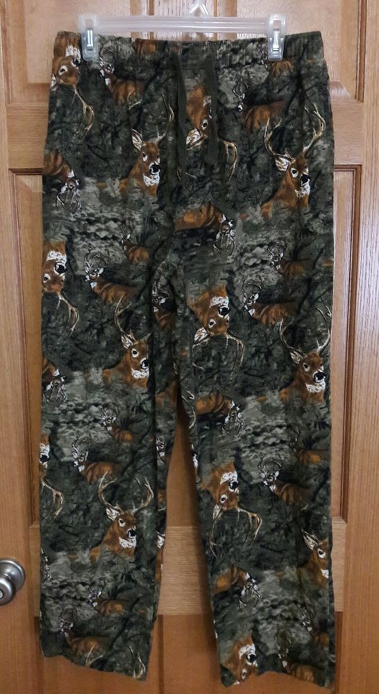 cd4d1162bb Northcrest Men s Flannel Deer Buck Print Lounge Pajama Pants Size M   fashion  clothing  shoes  accessories  mensclothing  sleepwearrobes  ad  (ebay link)