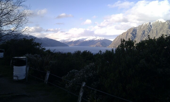 Lake Wanaka - Sth Island. New Zealand