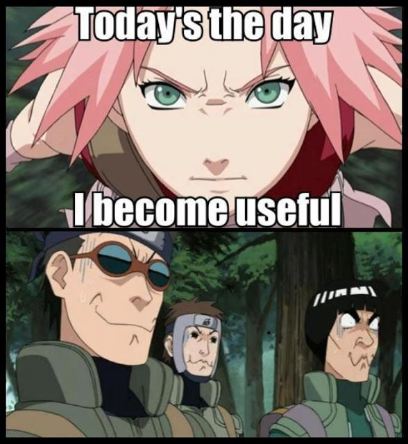 Hahaha nice one Sakura, nice one.... :D /Naruto I laughed too hard at this one XD