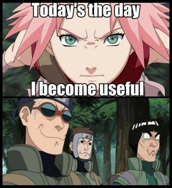 Hahaha nice one Sakura, nice one.... :D /Naruto I laughed too hard at this one XD