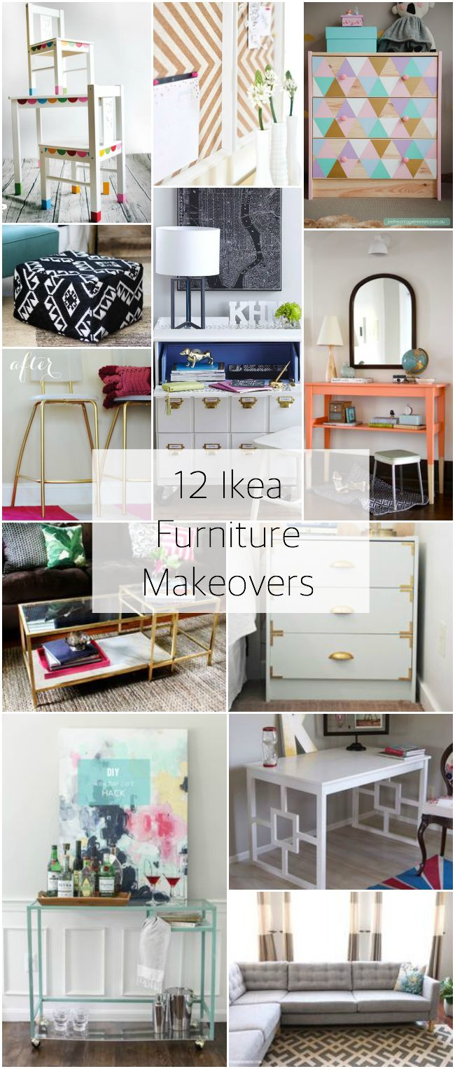 Ikea Furniture Makeovers / www.lifewithgraceblog.com