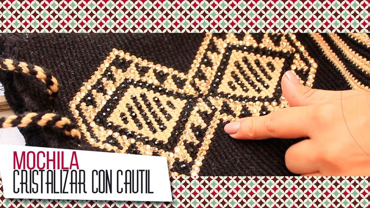 ¡NUEVO #VÍDEO!  ¡Exclusiva y única! Ahora puedes #personalizar una hermosa #mochila #Wayúu con #cristales, Caro Jaramillo nos enseña cómo hacerlo en ESTE VÍDEO: https://goo.gl/cm5Ac5