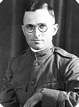 In 1917, with World War I in full force, Harry Truman joined the Army. He served in France and left the army as a captain in May of 1919. One month later, he married Elizabeth Wallace.