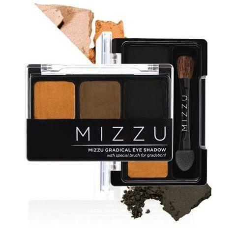 MIZZU GRADICAL EYESHADOW - (SMOKY LATTE SERIES) Rp. 49.000  Eyeshadow dengan teksture yang halus dan tidak terlalu powdery sehingga pemakaiannya nyaman di mata sistaaa. Untuk warna yang lebih sempurna gunakan Eyebase yaa, dear. Get perfect smoky eyes with Mizzu Eyeshadow.  Order via WA/LINE: 082276221532 / 081375519626…