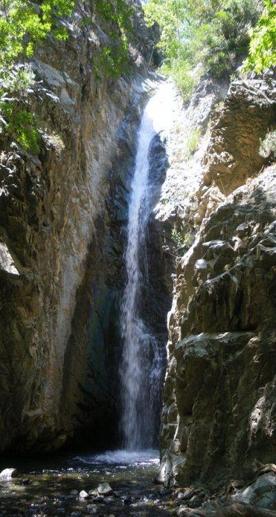 Kaleidonia Falls, Cyprus