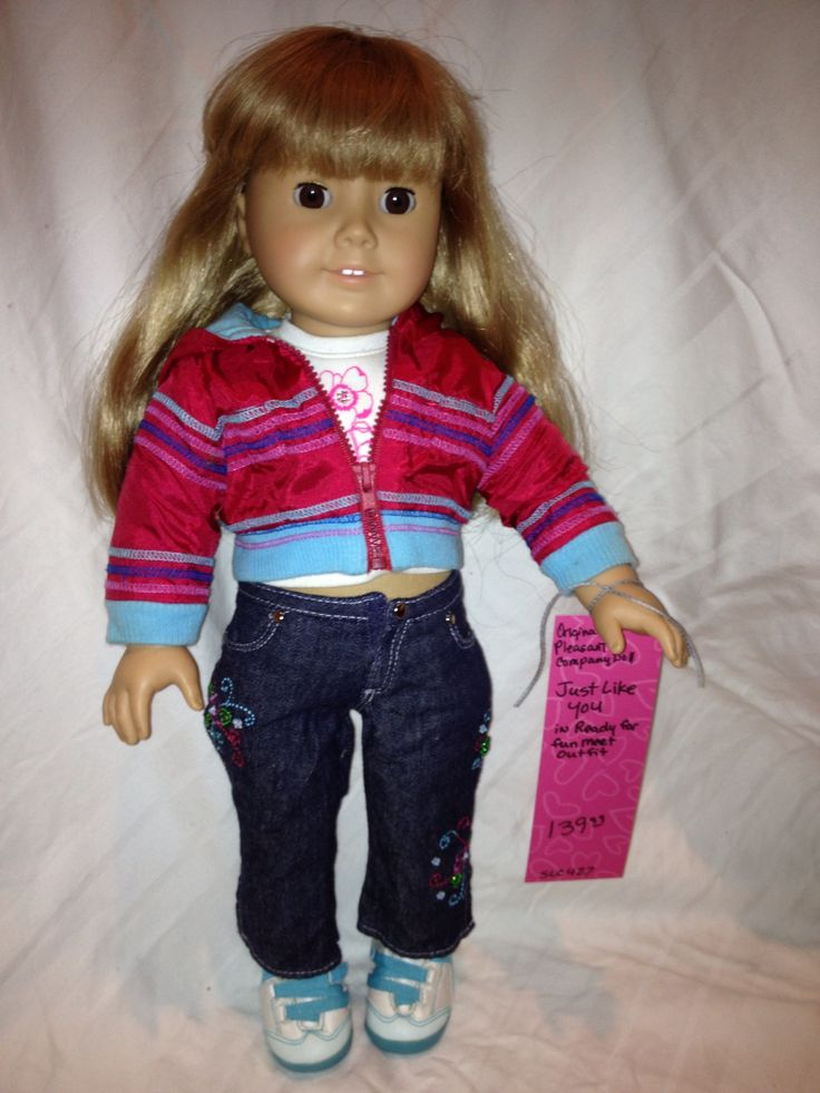 Just like you | American girl dolls | Pinterest