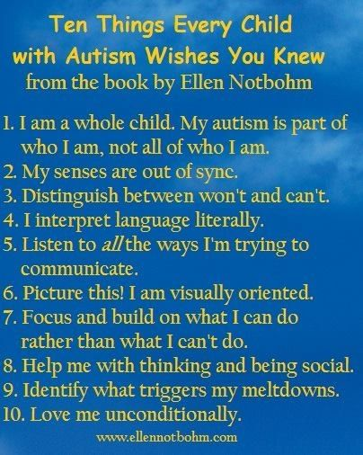 Things I Wish I Knew Before My Mom Died Quotes: 10 Things Every Child With Autism Wishes You Knew