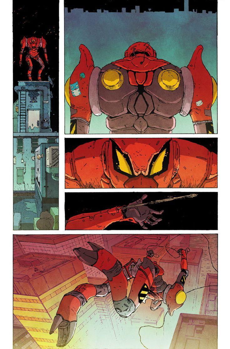 Jake Wyatt - Edge of Spider-Verse #5