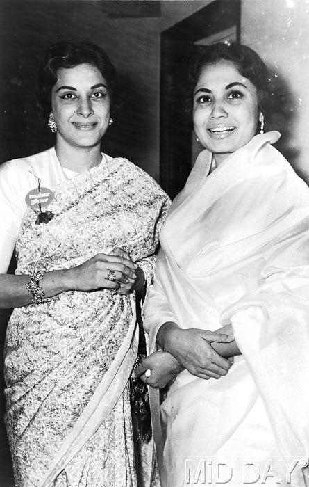 Nargis and Meena Kumari