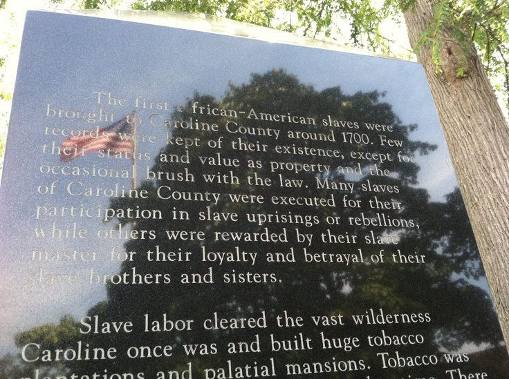 Caroline county courthouse this marker on the grounds of