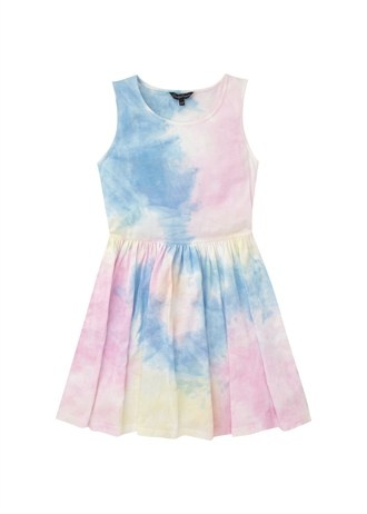 A girls candy couture tie dress from www.Matalan.co.uk