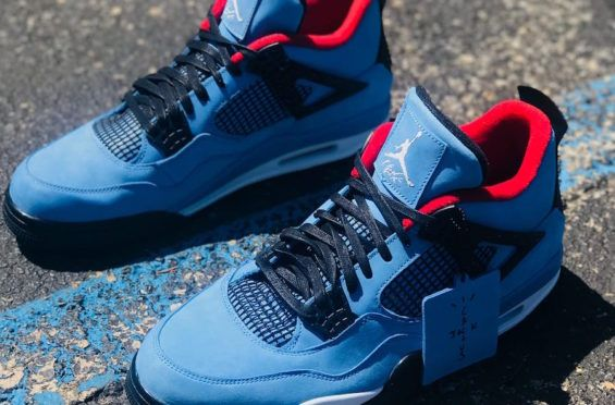online store adb88 51ad4 ... denmark our best look yet at the travis scott x air jordan 4 cactus jack  while