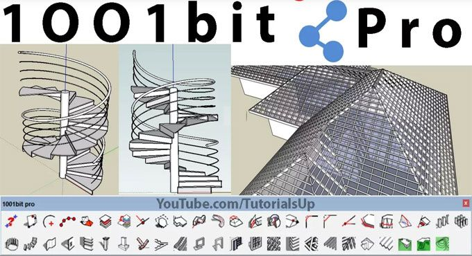 This Sketchup Video Will Introduce The Functionalities Of 1001bit