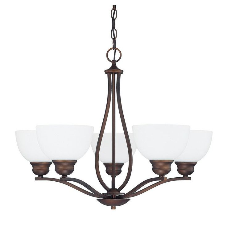 Capital Lighting 4035-212 Stanton 5 Light 1 Tier Chandelier B
