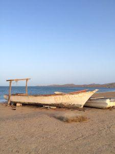 Cabo de la Vela, el mar al borde del desierto. Guajira, Colombia. Foto Viviana Londoño