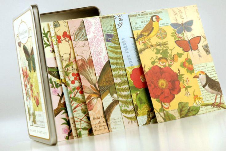 18 Flora & Fauna postcards - Postpapier enzo