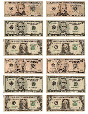 Best 25+ Printable play money ideas on Pinterest | Play money ...