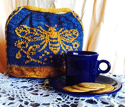 Ravelry: the bee cosy restoring normality pattern by bunnymuff