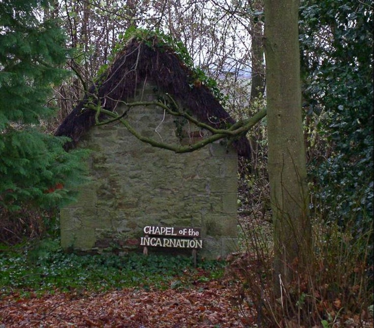 """""""Chapel of Incarnation"""" on the property of the Northumbria Community, """"Nether Springs"""" (NE England"""