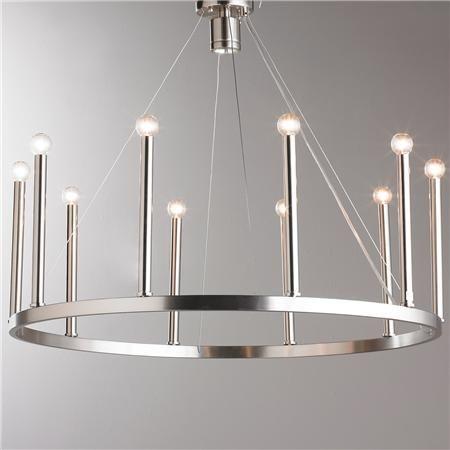Euro Modern Candelabra Chandelier 10 Light Master Bedrooms Halogen Lamp And Foyers