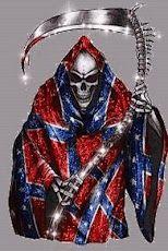tattoos rebel   flags | ... Rebel flag cloaklive wallpaper of a grim reaper in a Rebel flag