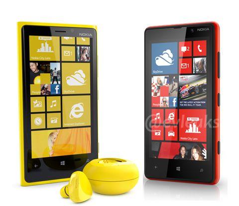 """New Nokia Lumia 920. Avec le système de rechargement sans fil et un écran 4.5"""" il m'a l'air bien intéressant, surtout en Jaune :-)"""