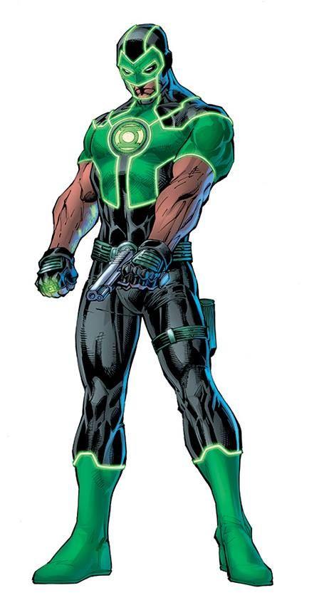 Rebirth: Simon Baz -Green Lantern by Jim Lee, colours by Alex Sinclair