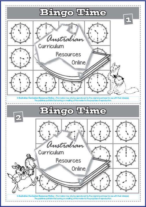 ACMMG020 Bingo Time