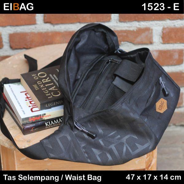 Tas selempang waist bag murah muat untuk tablet 7 INCH kode produk EIBAG 1523 E. Bahan luar menggunakan cordura motif. Bahan bagian dalam menggunakan bahan lapis tebal dan kuat. Terdiri dari 1 kabin utama yang di dalamnya ada organizer sederhana. Kemudian di bagian ada sebuah saku kecil. Lalu di bagian belakang juga ada saku lainnya …