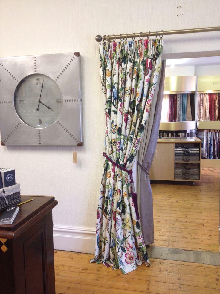 Showroom Curtain Display