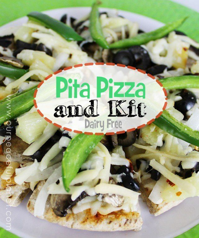 Pita Pizza Kit & Recipe