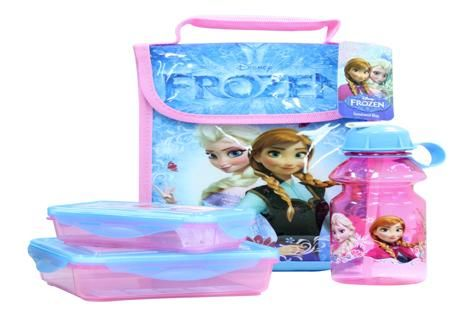 We try: Frozen lunchbox: Lunch never looked so pretty than in this lunchbox range featuring favourite characters from Frozen.