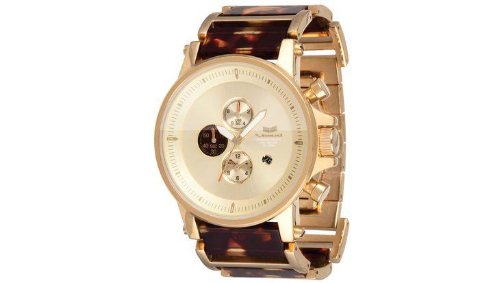 Tortoise Chronograph Watch