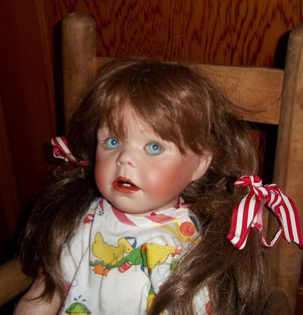 Haunted doll Tabatha is the Roll's Royce of paranormal dolls. People are intimidated by her because of her life like appearance and all the energy that surrounds her.