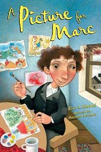 """Matthew Trueman cover illustration for """"A Picture for Marc"""".  (Marc Chagall)"""