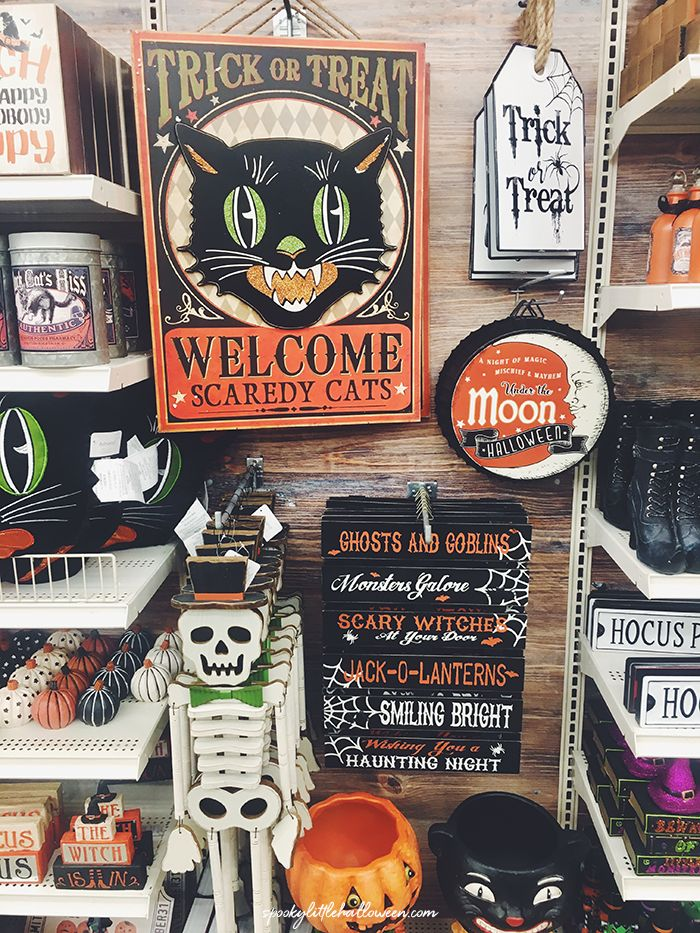 Let's go Halloween looking at Michaels!