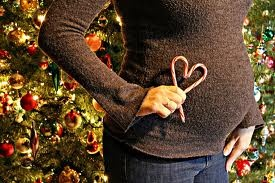 Christmas Maternity @Rachel Barry do this!