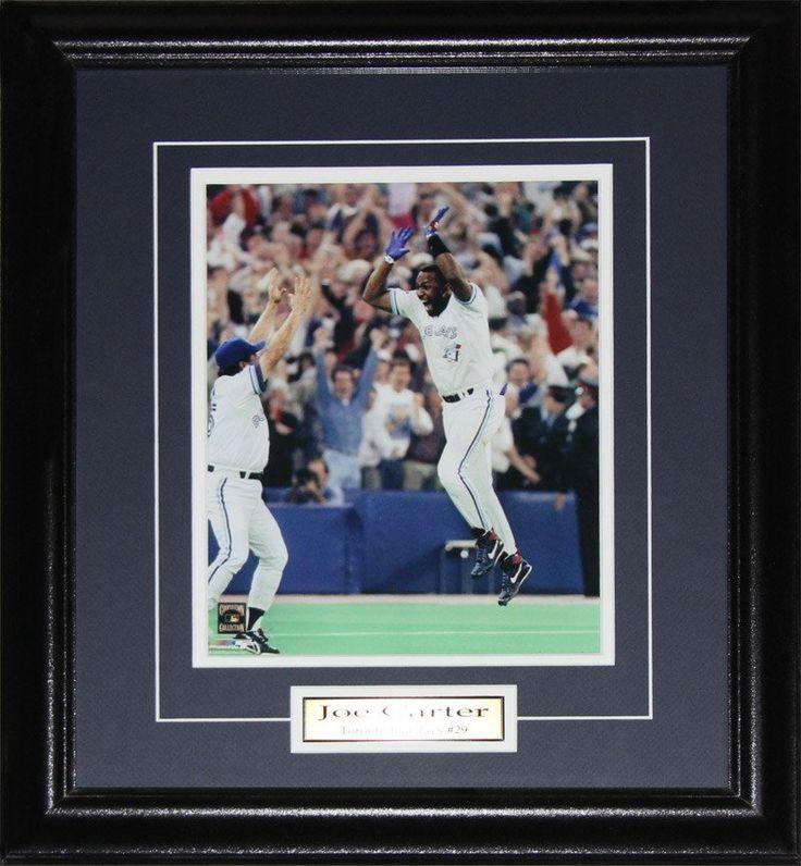 Joe Carter Toronto Blue Jays 8x10 photo framed $69.99 plus tax