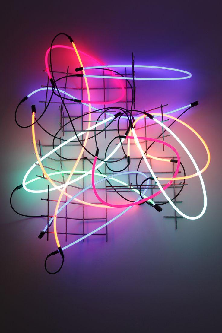 | Neon, Eisengitter, Transformer