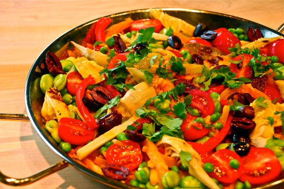 paella | Dinner Recipe | Pinterest | Paella, Meatless Monday and ...